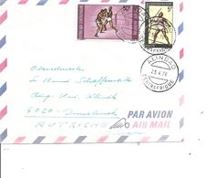 Centrafrique ( Lettre Par Avion De 1978 De Alindao Vers L'Autriche à Voir) - Centrafricaine (République)