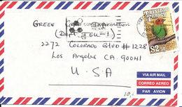 Trinidad & Tobago Air Mail Cover Sent To USA 1994 Single Franked BIRD - Trinidad & Tobago (1962-...)