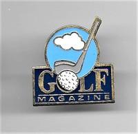 PINS  Médias Sports GOLF MAGAZINE /  Signé LOGO MOTIV / 33NAT - Golf