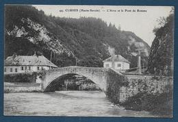 CLUSES - L' Arve Et Le Pont De Romme - Cluses