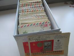 UDSSR / Ukraine Viel Donetsk Als Einschreiben Gut 550 Stk. GA Umschläge / Belege Tolle Motivmarken 70er/80er Jahre. - Collections (without Album)