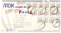 (67) Brazil To Australia Cover (1 Cover) 1980 - Briefe U. Dokumente