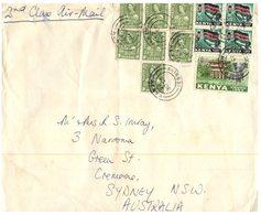 (67) Kenya To Australia Cover (1 Cover) 1963 - Kenya (1963-...)