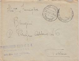 MILITARI/A - BUSTA - POSTA MILITARE N°80 - 1° REGGIMENTO GENIO DO C.A.- DIVISIONE FANTERIA SUPERGA - Guerra 1914-18