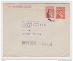 LETTRE POR NORTHERN PRINCE 1936 BUENOS AIRES → USA ESTADOS UNIDOS - H. G. SPANTON - 2 Scans - - Argentina