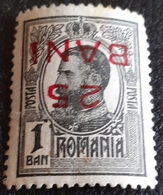 Error Romania 1909 King Charles I, 1b  With Inverted Surcharge `` 25 Bani `` Unused Gumm - Variedades Y Curiosidades