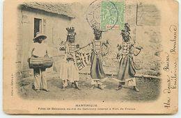 Martinique - Filles De Behanzin Ex-roi Du Dahomey Interné à FORT DE FRANCE - Fort De France
