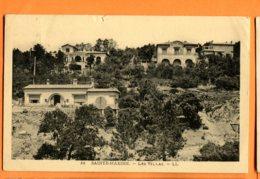 FEL1424, Sainte-Maxime, Les Villas, 32, Circulée 1932 - Sainte-Maxime