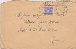 MILITARI/A - BUSTA - POSTA MILITARE N°80 - COMANDO DIVISIONE SUPERGA - AFFRANCATA CON SEGNATASSE CENT.50 - Guerra 1914-18