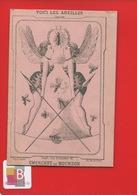 Anthropomorphisme Abeille Chromo Image Devinette Voici Les Abeilles Chercher Le Bourdon Imp Naples  Pass Caire Paris - Other
