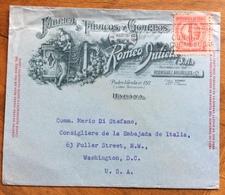 TABACCO E SIGARI  CUBA HABANA  L'AVANA - FABRICA De TABACOS Y CIGAROS ROMEO Y GIULIETTA BUSTA PER GLI U.S.A. DEL 1947 - Andere