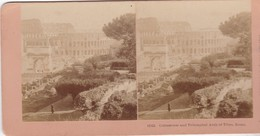 1897 / KILBURN  / 12129 / ROME / COLOSSEUM ARCH OF TITUS - Stereoscoop