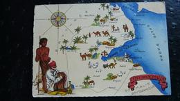 Côte Des SOMALIS - Mapas