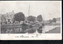 Workum - Boot Schip - 1902 - Workum Grootrond - Workum