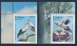 "LITHUANIA/Litauen, EUROPA 2019 ""National Birds"" Set Of 2v** - 2019"