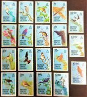 # British Virgin Islands 1985**Mi.500-518 BIRDS , MNH [21;18] 4. - Sonstige