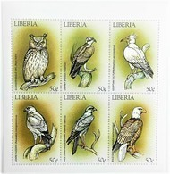 Liberia 1999**Mi.2265-70 Birds , MNH [6.10] - Pájaros