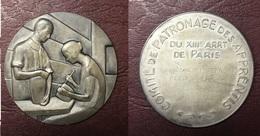 FRANCE - Médaille - COMITÉ DE PATRONAGE DES APPRENTIS - Paris XIIIe Par Jacquot - Professionnels / De Société