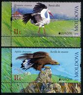 """MOLDOVA/Moldawien EUROPA 2019 """"National Birds"""" Set Of 2v** - 2019"""