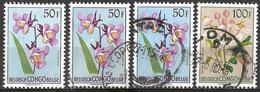 8Bc-966: 4 Zegels: N°322 Postfris  + 322 + 322 + 323 Gestempeld... - 1947-60: Neufs