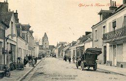 72  CONNERRE  CIRCUIT DE LA SARTHE 1906 ARRIVEE - Connerre