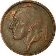 Monnaie, Belgique, 20 Centimes, 1959, TB+, Bronze, KM:146 - 01. 20 Centimes