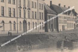 AUDENARDE OUDENAARDE 1912 LE PALEIS DE JUSTICE, HET JUSTITIEPALEIS / MET BINNENSCHIP - Oudenaarde
