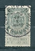 81 Gestempeld LEUVEN - LOUVAIN 3D - 1893-1907 Armarios