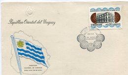 URUGUAY. SOBRE PRIMER DIA. 1976. CONTADURIA GENERAL DE LA NACIÓN. REPÚBLICA ORIENTAL DEL URUGUAY. . FDC.  - NTVG - Uruguay