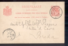 Amsterdam 2 Grootrond - 1899 - Geuzendam - Postal History