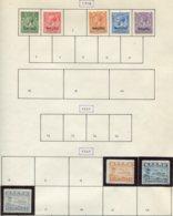 16065 NAURU Collection Vendue Par Page N°1/2, 4/6, 18/20 */ °   1916-24   TB - Nauru