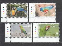 UU853 !!! EXCLUSIVE 2019 COOK ISLANDS FAUNA BIRDS PARROTS $42 US NOMINAL 1SET MNH - Papageien