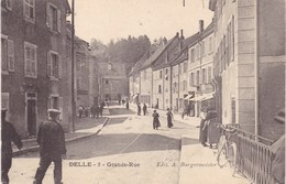 Territoire-de-Belfort - Delle - Grande-Rue - Delle