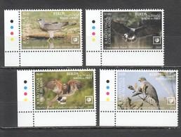 UU860 !!! EXCLUSIVE 2019 RAROTONGA FAUNA BIRDS OF PREY $10 US NOMINAL 1SET MNH - Adler & Greifvögel
