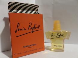 Miniature Pleine Avec Boite Sonia Rykiel - Miniatures Modernes (à Partir De 1961)