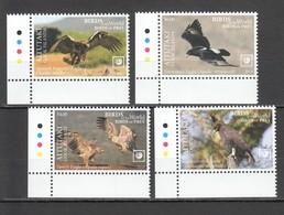 UU861 !!! EXCLUSIVE 2019 AITUTAKI FAUNA BIRDS OF PREY $10 US NOMINAL 1SET MNH - Adler & Greifvögel