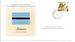 BOTSWANA 1985 POLICIER SUR  CHAMEAU - Botswana (1966-...)