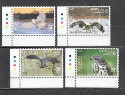 UU862 !!! EXCLUSIVE 2019 PENRHYN FAUNA BIRDS OF PREY $10 US NOMINAL 1SET MNH - Adler & Greifvögel
