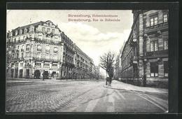 CPA Strassburg / Strasbourg, Hohenlohestrasse / Rue De Hohenlohe - Strasbourg
