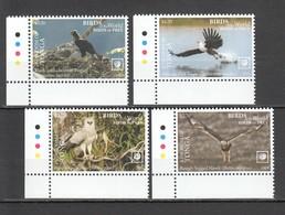 UU863 !!! EXCLUSIVE 2019 TONGA FAUNA BIRDS OF PREY $8.5 US NOMINAL 1SET MNH - Adler & Greifvögel
