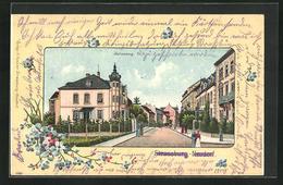 CPA Strassburg-Neudorf, Blick In Den Juliusweg - France
