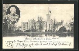 AK Sibyllenort, Schloss In Welchem König Albert Von Sachsen 1902 Verschieden Ist - Schlesien
