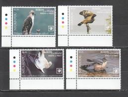 UU864 !!! EXCLUSIVE 2019 NIUAFO'OU FAUNA BIRDS OF PREY $8.5 US NOMINAL 1SET MNH - Adler & Greifvögel
