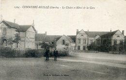 72  CONNERRE BEILLE  CHALET ET HOTEL DE LA GARE - Connerre