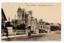 CPA - 22 - ERQUY - BOULEVARD DE LA GRÈVE - - Erquy