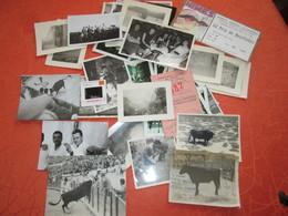 Archive De Photos Diverses  De Famille Ansel . Region Baucaire  Et Lunel . Et De Courses Camarguaise - Lieux