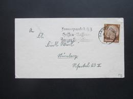3.Reich 1937 Propagandastempel Darmstadt Januarparole D. HJ Hessen - Nassau Junger Sozialismus - Allemagne