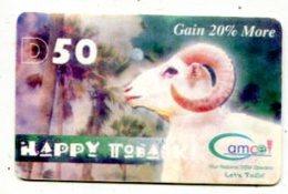 TK 16246 GAMBIA - Prepaid No ED - Gambia