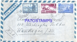126676 ARGENTINA BUENOS AIRES COVER YEAR 1956 CIRCULATED TO US NO POSTAL POSTCARD - Ohne Zuordnung