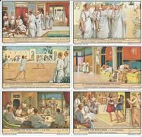Chromos LIEBIG Série Complète N°: 1466 La Journée D'un Riche Romain - Liebig